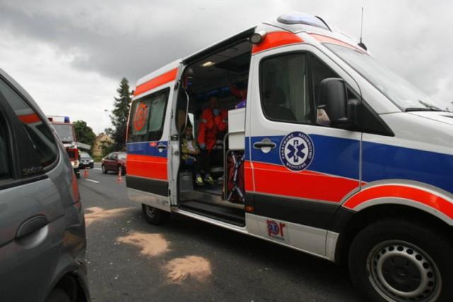 Wypadek w Dębicy. Zginął 75-letni pieszy