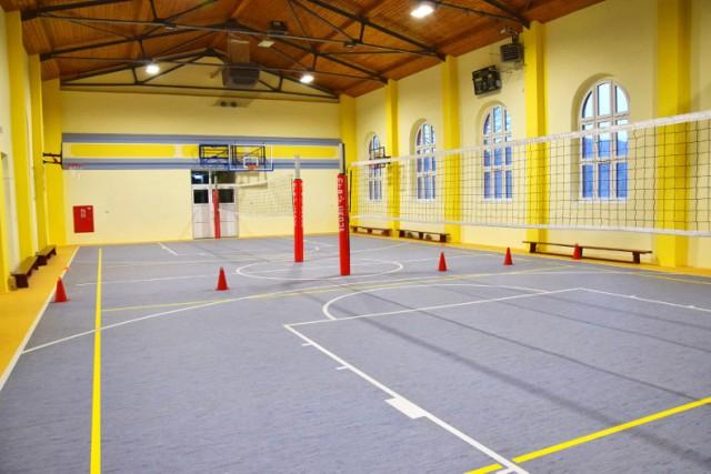 Wyremontowana hala sportowa w Boguszowie-Gorcach