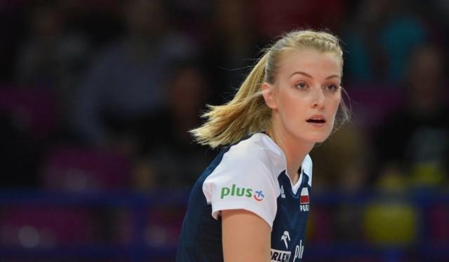 Natalia Mędrzyk 27-letnia przyjmująca Chemika Police i reprezentacji, pochodzi z Lęborka.