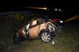 Wypadek na autostradzie A4 koło Tarnowa. Ranna krakowianka w szpitalu