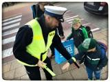 Pruszcz Gdański. Policjanci dbają o bezpieczeństwo przy szkołach