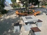 Plac Zesłańców Sybiru po rewitalizacji przyciąga kolorami. Zobacz zdjęcia