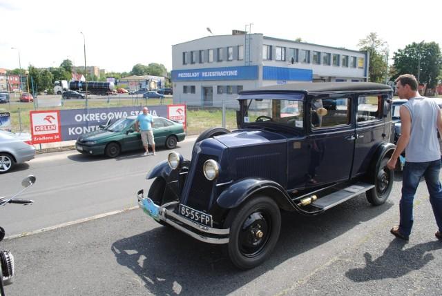 Zabytkowe auta w Wolsztynie