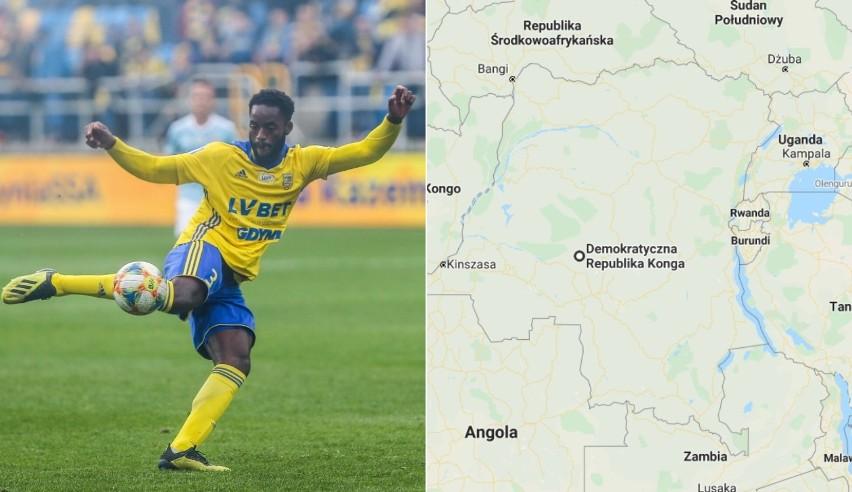 Sporo jest u nas piłkarzy z Afryki. Dla przykładu RPA...