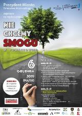 Nie chcemy smogu w Tomaszowie - akcja na pl. Kościuszki w najbliższy piątek