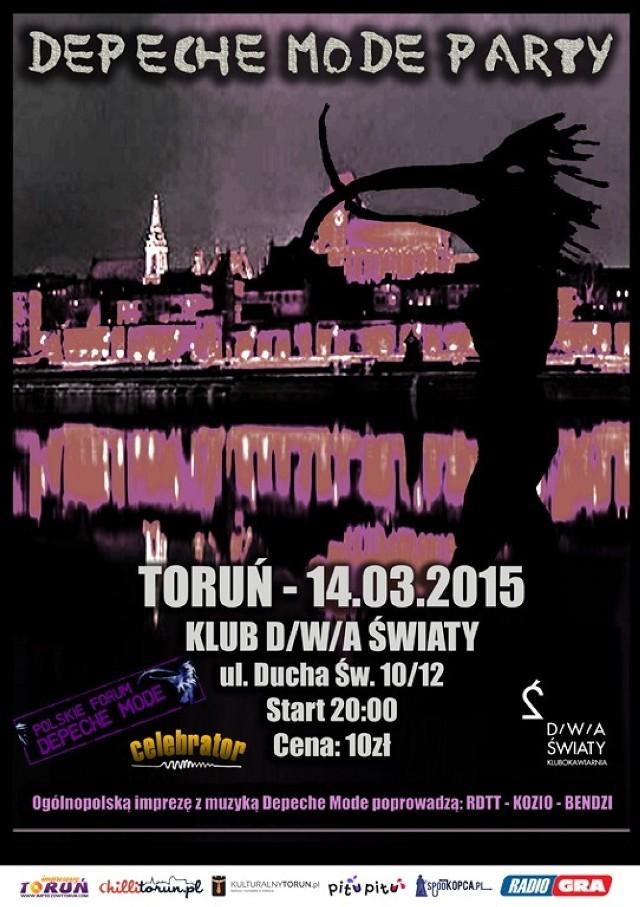 Zlot fanów Depeche Mode 14 marca w Toruniu!