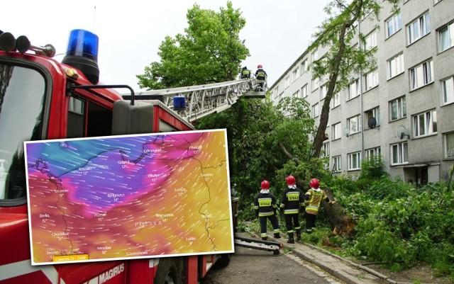 IMGW - ostrzeżenia przed silnym wiatrem. Do Polski zbliża się niż, który przyniesie zmianę pogody. Wiatr może osiągać siłę 100 km/h i powodować zniszczenia