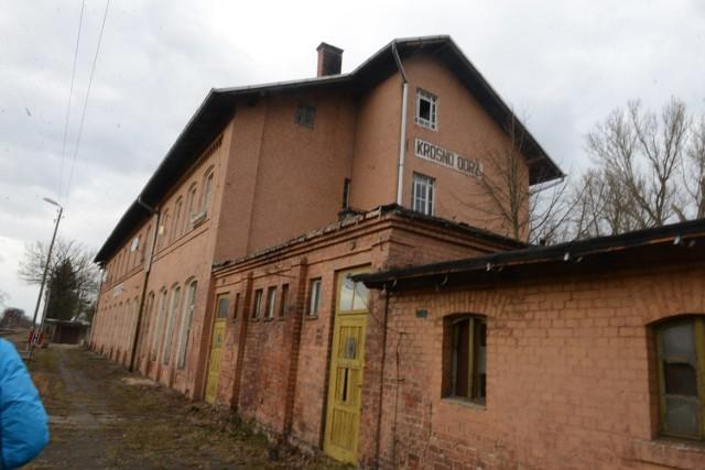 Dworzec kolejowy w Krośnie Odrzańskim