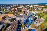 Zmodernizowana elektrociepłownia z kotłem na biomasę w Krośnie. Przynosi oszczędności i emituje mniej dwutlenku węgla [ZDJĘCIA]