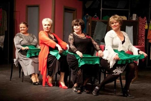 Od lewej: Grażyna Zielińska (Zosia), Ewa Śnieżanka (Malina), Elżbieta Jodłowska (Pamela) i Małgorzata Duda (Krycha)