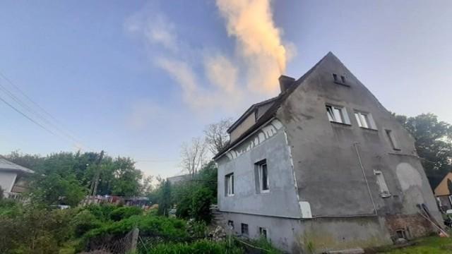 Wyglądało groźnie, ale dzięki szybkiemu przyjazdowi strażaków z Międzyrzecza z odpowiednim sprzętem udało się pożar ugasić.
