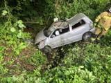 W Zagórzu auto uderzyło w drzewo. 19-letni kierowca nie miał uprawnień do jazdy. Stracił je wcześniej za prędkość