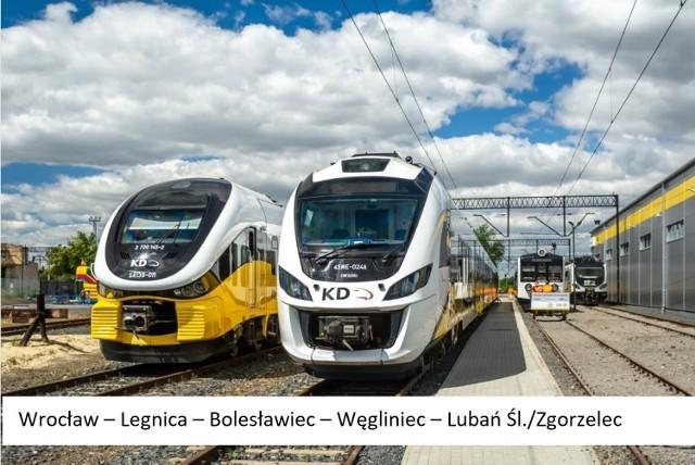 Wrocław-Zgorzelec i Zgorzelec-Bischofswerda  Nowy pociąg 69165 KD SPRINTER NYSA relacji Wrocław Gł. 11:10 – Zgorzelec 12:49, skomunikowany z nowym pociągiem 5676 relacji Zgorzelec 13:00 – Bischofswerda, kursują codziennie