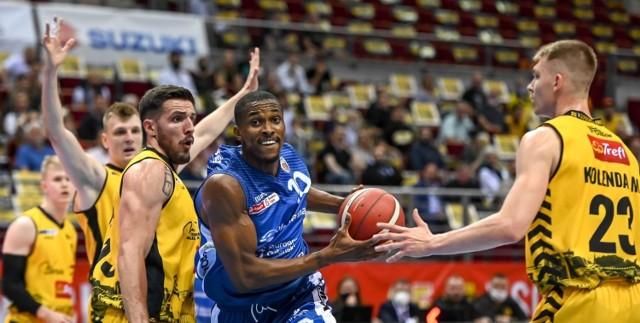Trefl Sopot - Polpharma Starogard Gdański w meczu 5. kolejki Energa Basket Ligi 2020/2021