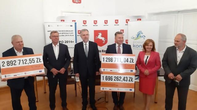 W Urzędzie Miejskim w Koninie podpisano trzy umowy ważne dla miasta i powiatu
