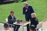 Turniej szachowy rozegrano za zamku w Uniejowie. Zawody miały wyjątkową oprawę ZDJĘCIA