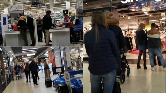 Wiele osób wybrało się w ten weekend 5-6 grudnia na zakupy do tarnowskich galerii i centrów handlowych. Sklepy były dodatkowo otwarte w niedzielę