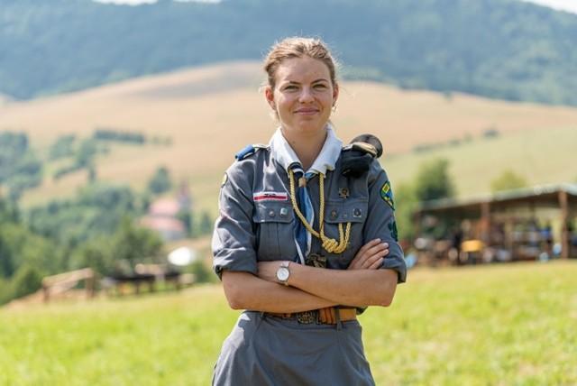 Podharcmistrzyni Anna Sułkowska zaznacza, że bezpieczeństwo jest najważniejsze, stąd decyzja o profilaktycznej ewakuacji obozu