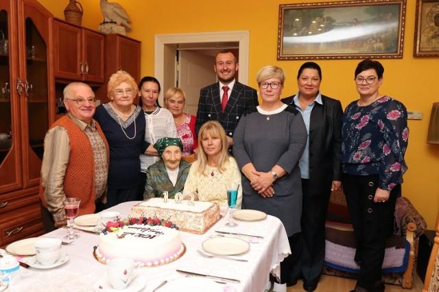 Pani Ola ma 102 lata