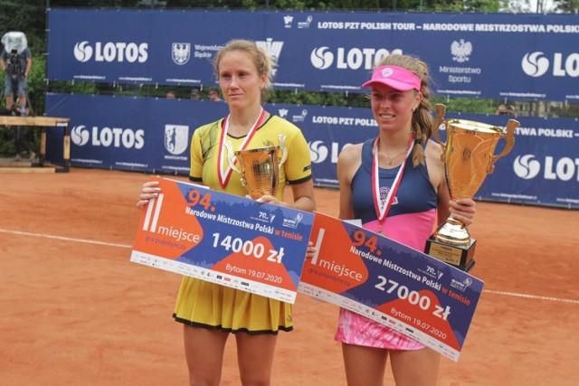 Katarzyna Kawa i Magdalena Fręch znów zagrają na kortach w Bytomiu