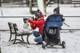 Zima przyszła do Bydgoszczy. W mieście i regionie zrobiło się biało [zdjęcia]
