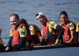 Malbork. Na Nogacie odbyły się mistrzostwa Polski w wyścigach łodzi smoczych [ZDJĘCIA, FILM]. Rywalizowali na długim dystansie