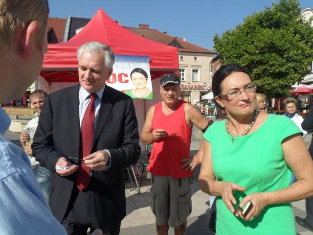 Jarosław Gowin w Rybniku poparł Kloc