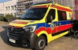Nowy ambulans dla pacjentów powiatu kościerskiego został kupiony dzięki środkom UE