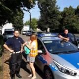 Lublinieccy policjanci pomogli rodzinie, która miała problemy na autostradzie A1. Teraz funkcjonariusze otrzymali podziękowania
