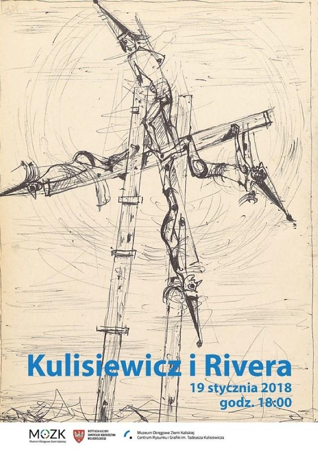 """Wystawa """"Kulisiewicz i Rivera"""" w Centrum Rysunku i Grafiki im. T. Kulisiewicza"""