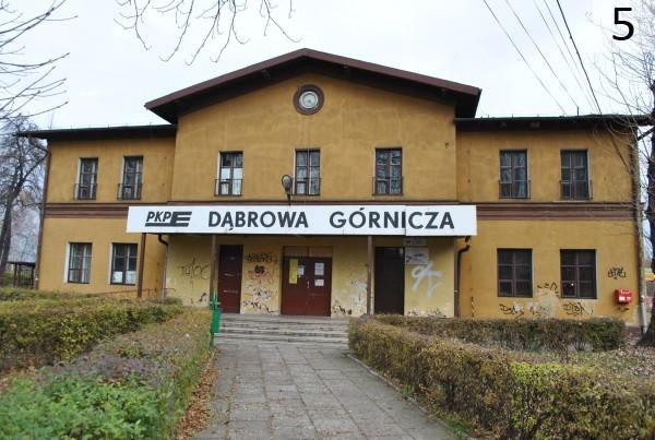 Dworzec w Dąbrowie Górniczej - miejsce 4