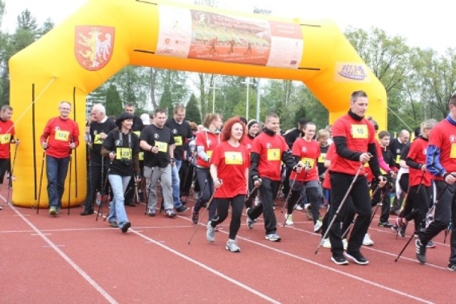 Transgraniczne Zawody Nordic Walking