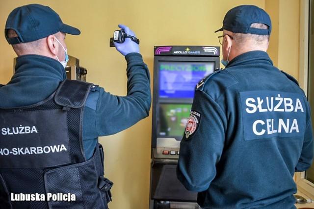 Kolejne nielegalne kasyno w Krośnie Odrzańskim zostało zlikwidowane przez miejscową policję.