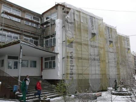 W bytowskim OPOW rozpoczął się remont. FOT. MARCIN PACYNO