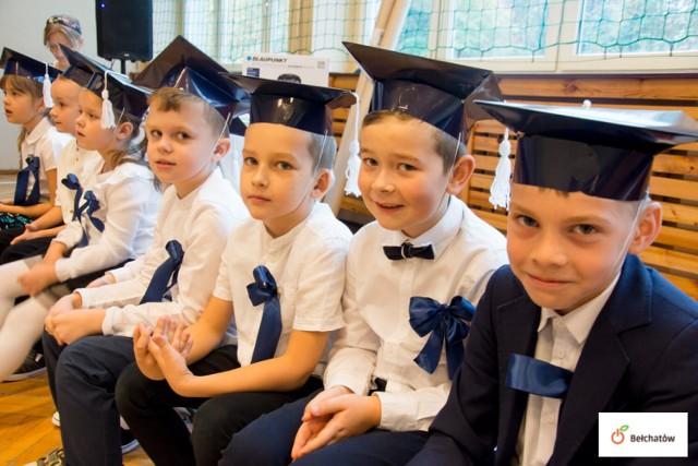 Ślubowanie klas pierwszych w Szkole Podstawowej nr 9 w Bełchatowie
