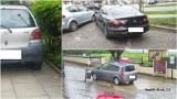 """Najgorzej zaparkowane samochody w Tarnowie. """"Mistrzowie parkowania"""" potrafią zastawić skrzyżowanie albo chodnik [ZDJĘCIA]"""