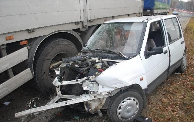 Śmiertelny wypadek na obwodnicy Lubartowa