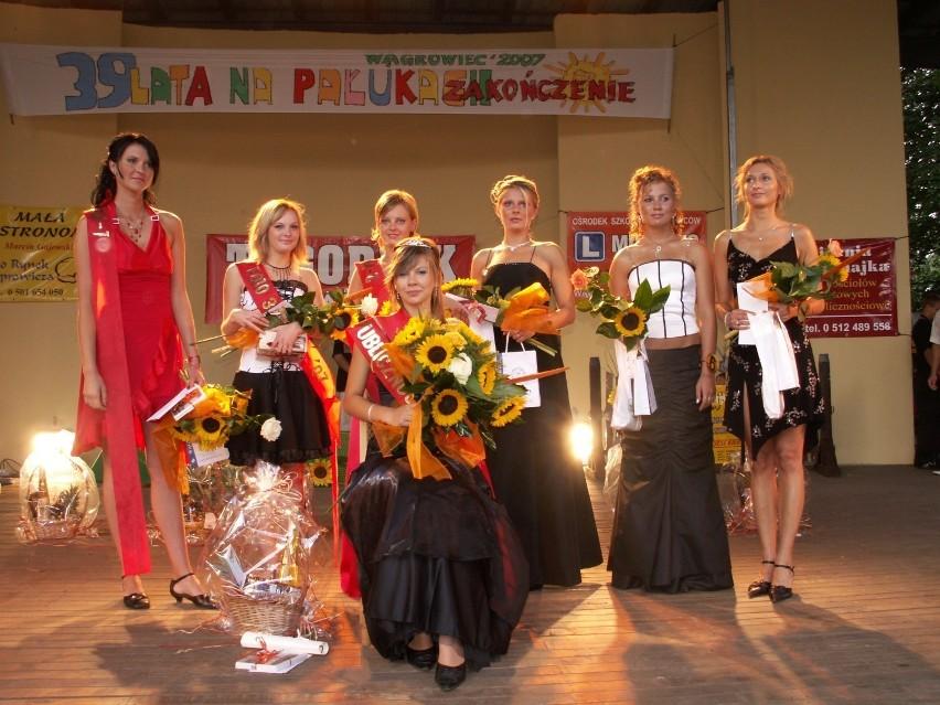 Wągrowiec. Wybory Miss Lata na Pałukach co roku przyciągały do amfiteatru tłumy. Zobacz nasze archiwalne zdjęcia z wyborów