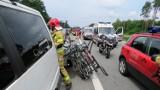 12-latka, poszkodowana w wypadku na S3 pod Zieloną Górą, przeszła operację. Dziewczynka jest w ciężkim stanie