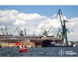 Gdańsk widziany z perspektywy wody. Dzięki inwestycjom na terenach postoczniowych, będzie można odkryć nowe, fascynujące miejsca Gdańska