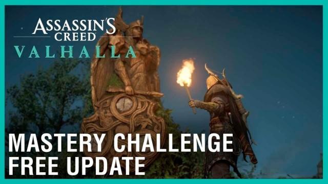 Nowy patch do Assassin's Creed Valhalla wprowadza Mistrzowskie Wyzwania. Co nowego? Jakie zmiany?