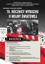 Obchody 70 rocznicy wybuchu II wojny światowej w Rzeszowie