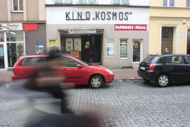 Kamienica z kinem mieści się przy ul. Młyńskiej