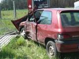 Wypadek na feralnym skrzyżowaniu
