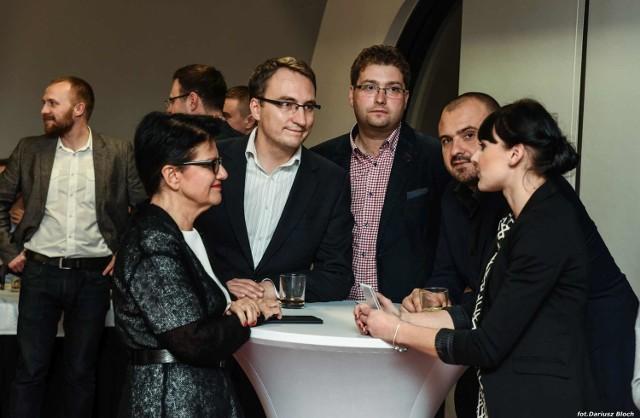 Wieczór Wyborczy w sztabie PO w Bydgoszczy.