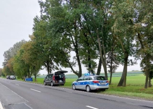 Śmiertelny wypadek w Słomkowie Suchym. Nie .zyje 54-latek Sprawca uciekł!