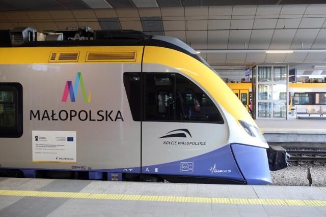 Po wprowadzeniu nowego rozkładu jazdy szybciej i częściej kursować będą pociągi aglomeracyjne z Miechowa do Krakowa