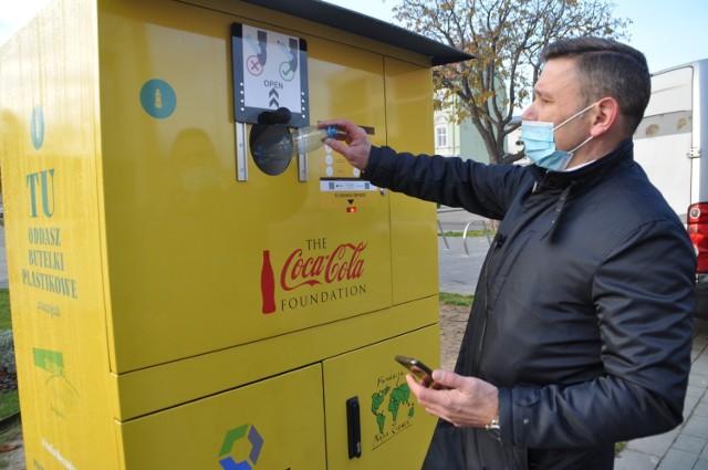 25 listopada w Słubicach stanęły dwa recyklomaty