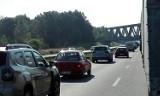 Remont na A4. Uważajcie przy wjeździe z S1 na A4 w kierunku Katowic. Nie ma pasa do włączeń! Na zjeździe z S1 stanął znak STOP