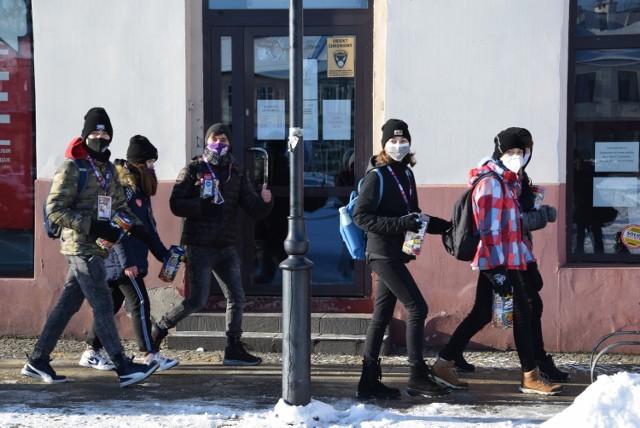 WOŚP w Skierniewicach grała przez cały dzień i to w różnych miejscach